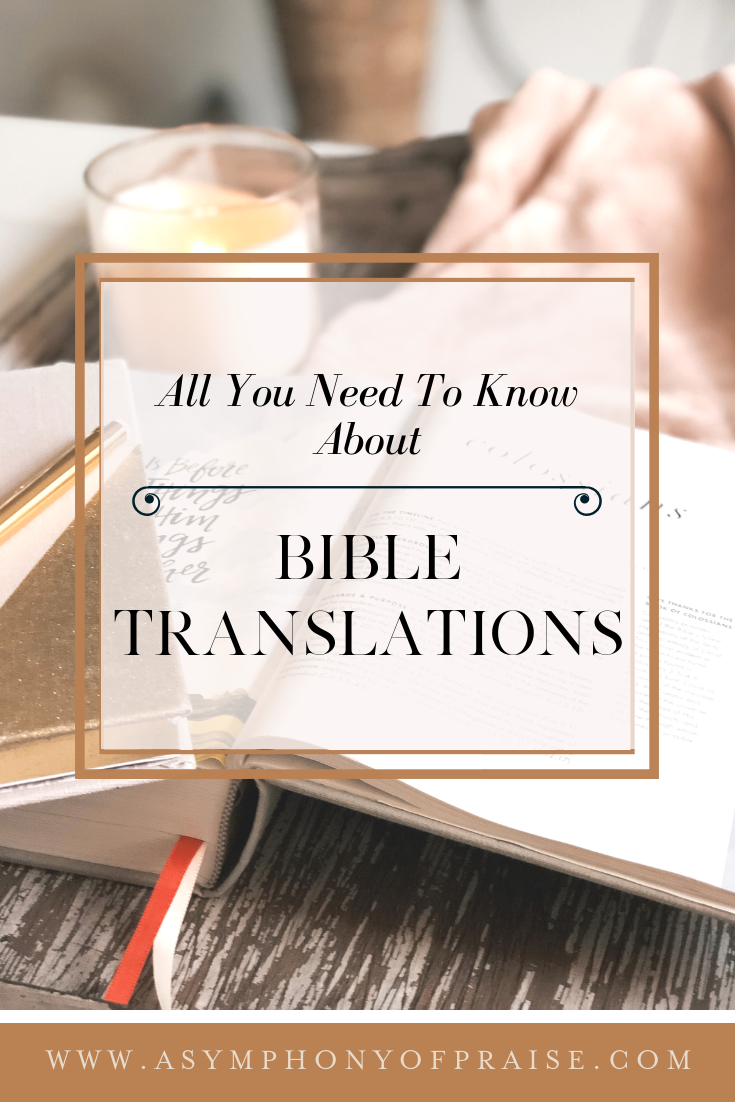 Bible Translations are CONFUSING! Which do you choose? Which is the easiest to understand? Which one is the most accurate? Which one should be avoided? We are going to answer all of those questions in this article and give you the resources and tools you need to pick the best Bible Translation!