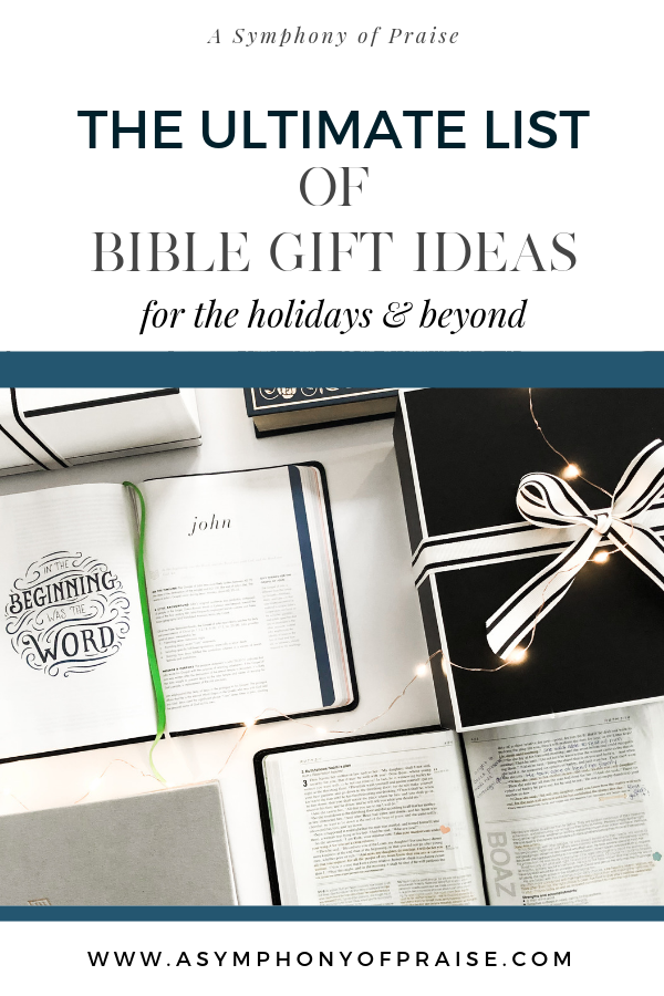 the Bible is the greatest gift you can give, but with so many Bibles and translations, which one do you choose? We are talking the BEST BIBLES for holiday gift giving, birthday, anniversaries, and beyond!