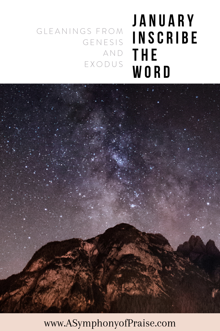 Our January Scripture Writing Plan is here and we are so excited to write through the books of Genesis and Exodus. Join us for this month's Bible Study Plan and get ready to Inscribe the Word as we Inscribe Genesis and Exodus.