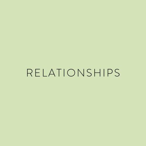 Our relationships are core to creating a beautiful symphony. When our relationships are harmonizing in a beautiful sound, our lives find such joy. Our relationships are the core of our hearts; whether you are married, single, parenting kids, or wanting to learn about friendships . . . we've got you covered.