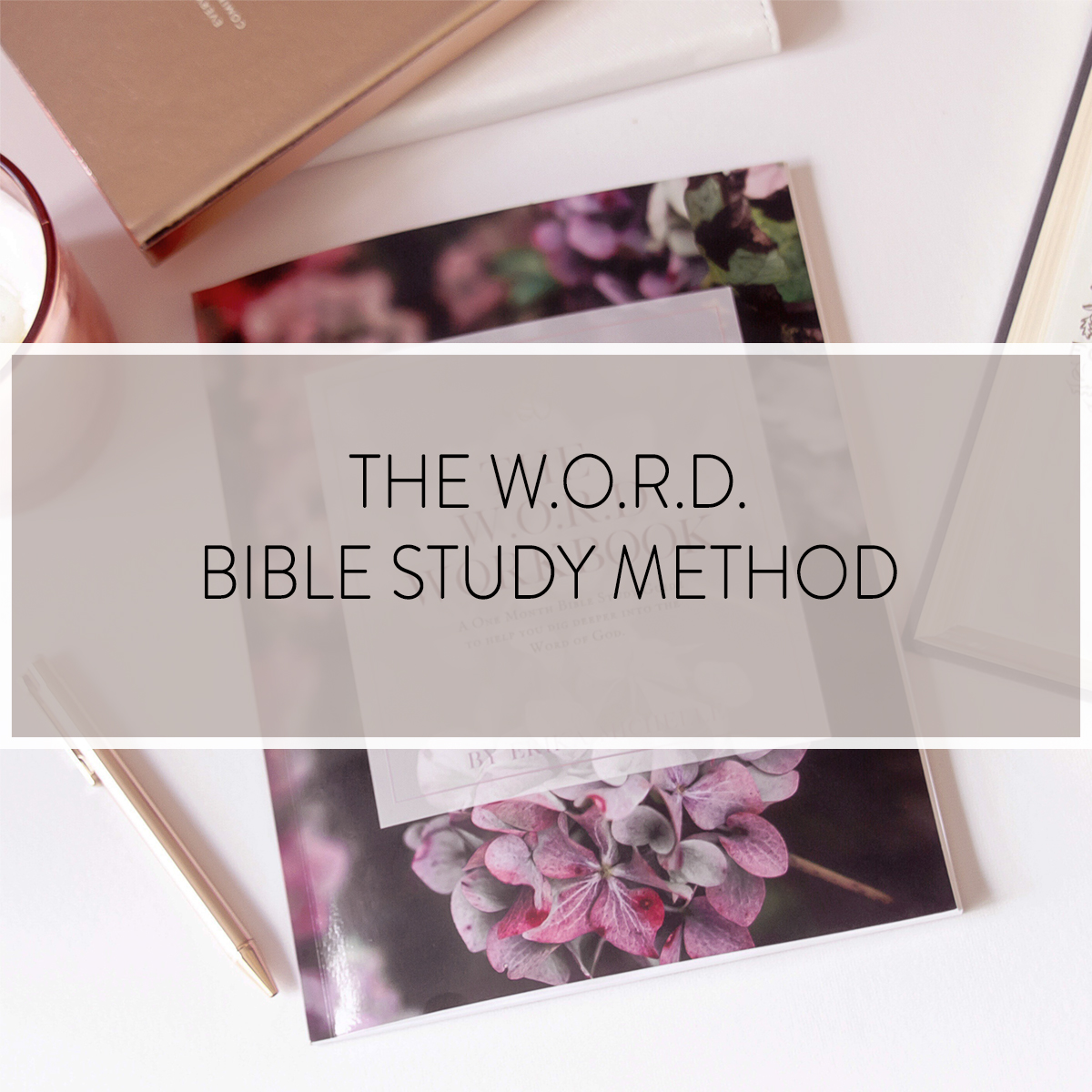 The W.O.R.D. Bible Study method is a simple four step approach two help you dig deeper into the Word of God.