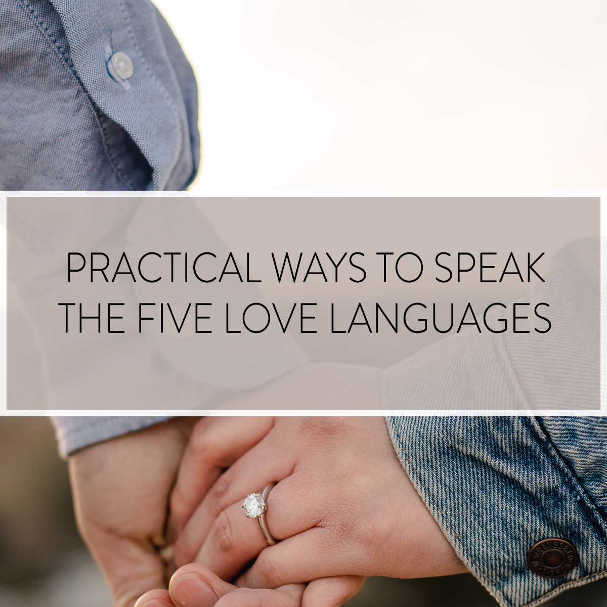 Want to know some fun and practical ways to speak the Five Love Languages to your spouse? Look no further with this comprehensive post PLUS a free ebook!