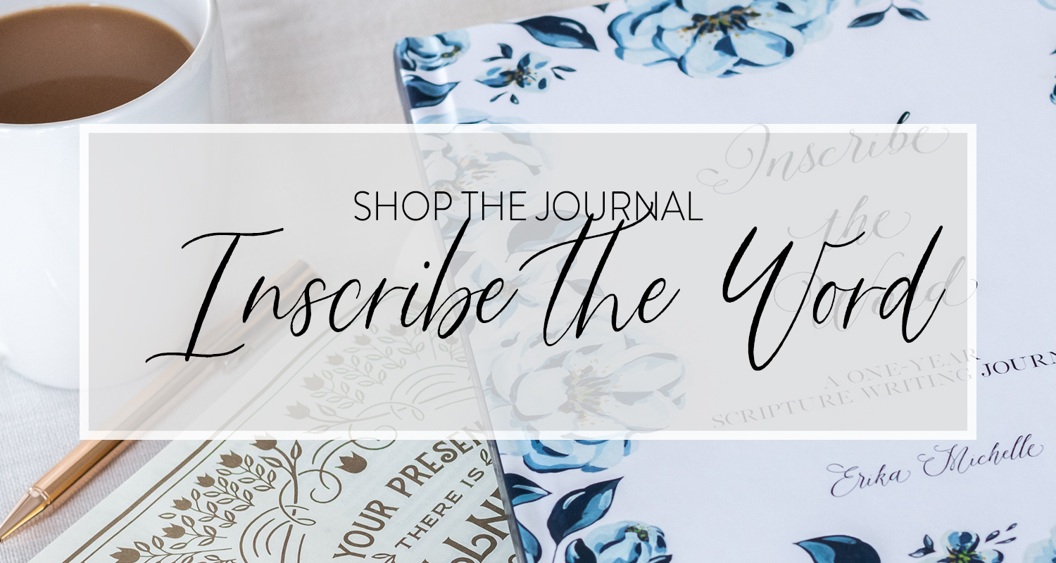 The Inscribe the Word Journal Is Here!