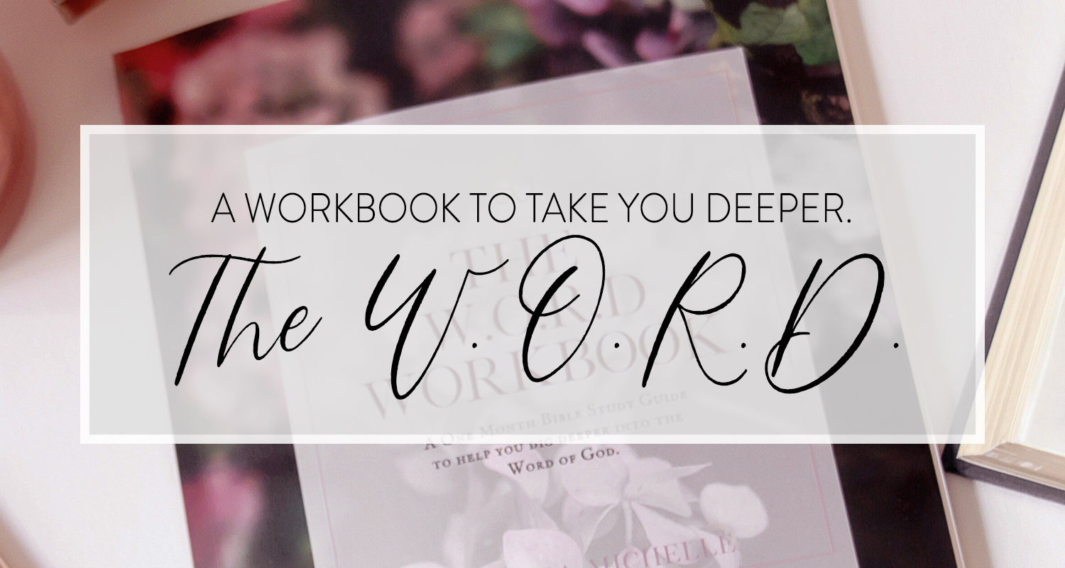 The W.O.R.D. Bible Study Method is designed to take you deeper into God's Word.