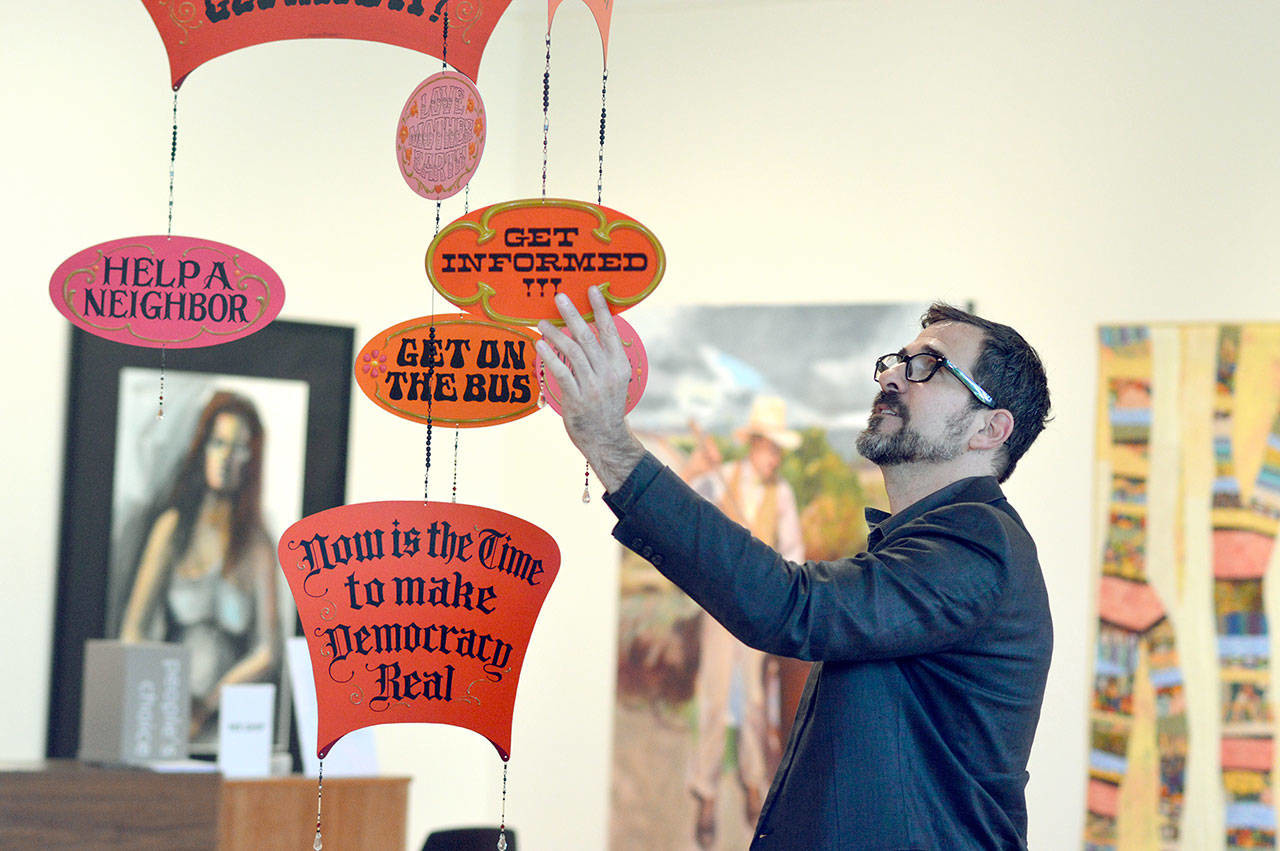 Peninsula Daily News - Artist brings 'Gentle Revolution' to Port Townsend