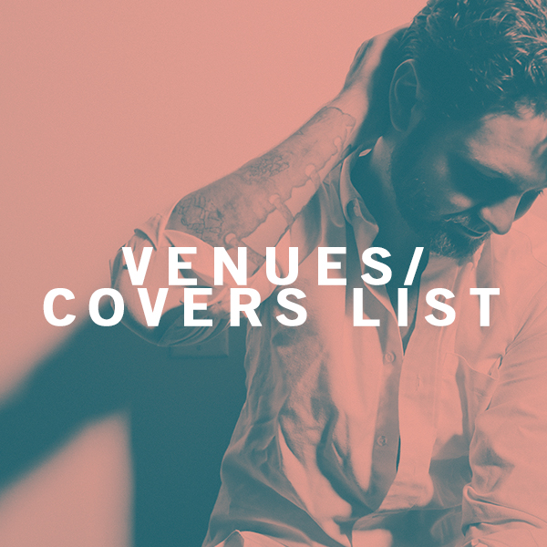 VENUES/COVERS LIST