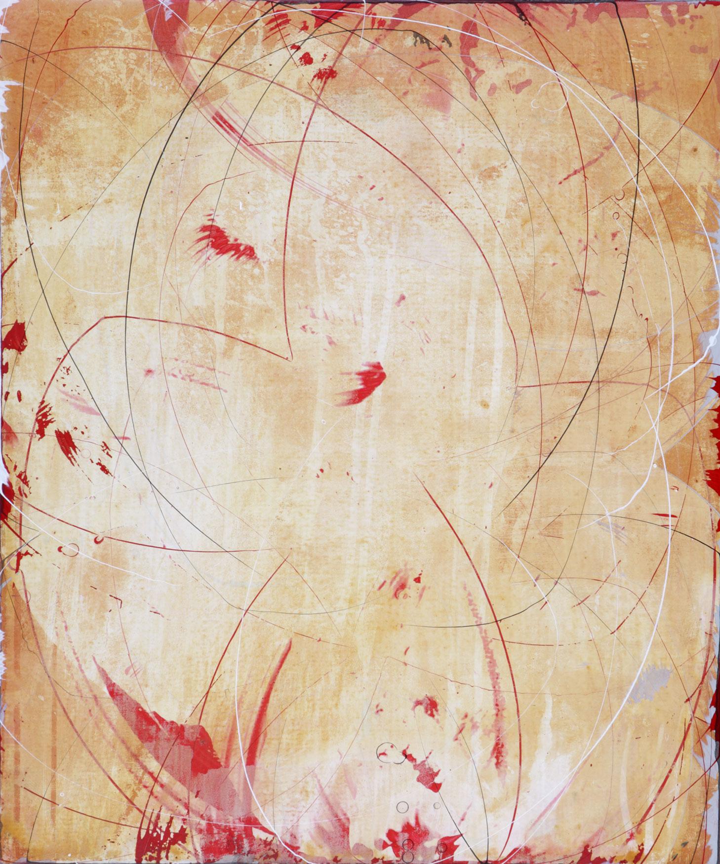 "saffron 1   24""X20""   ACRYLIC ON canvas 2009"