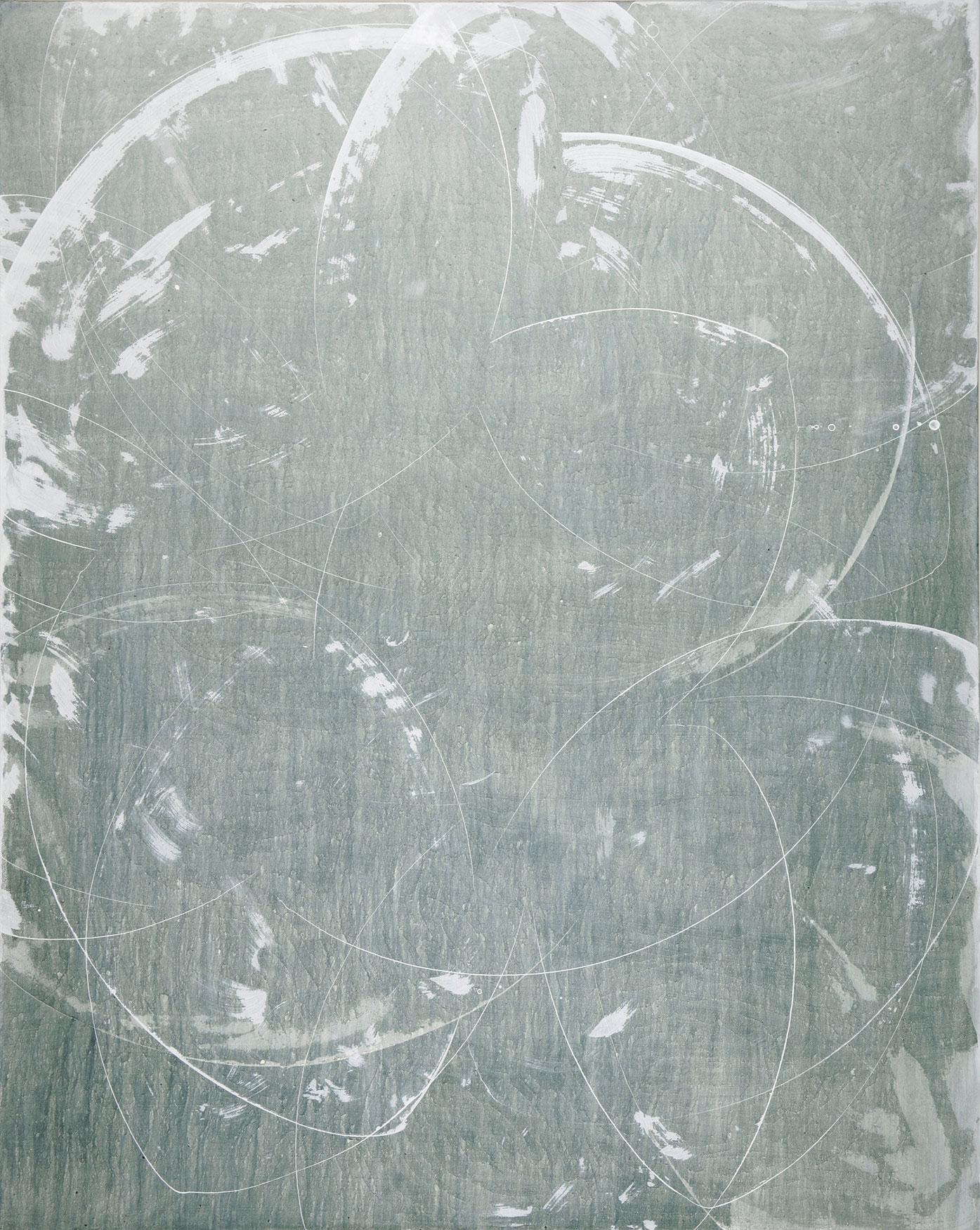 """celadon   60""""X48""""   ACRYLIC on canvas   2007"""