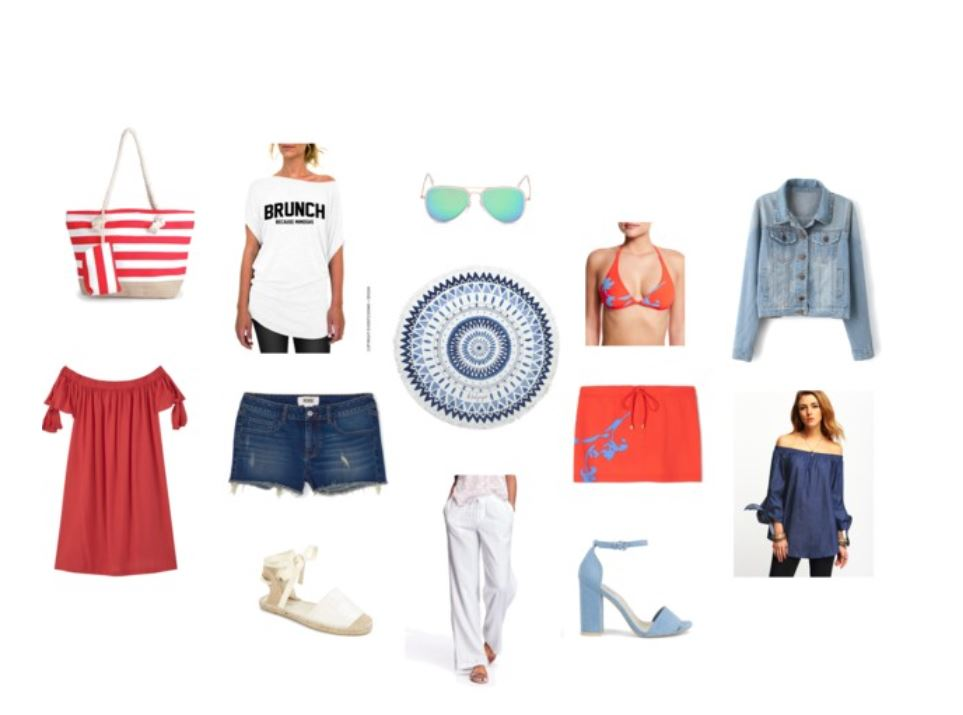 Memorial Day Weekend Holiday Looks