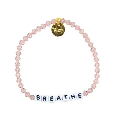 These fun bracelets with various inspirational words are created to keep for yourself for a time, then give away when you feel someone else could benefit from having them. Register them online and watch as they travel and encourage others! Breathe bracelet $24