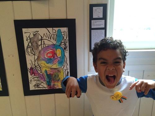 Copy of Preschool Artist