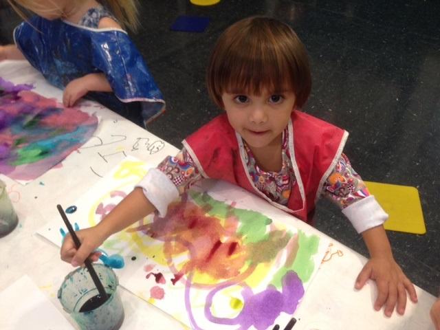 Copy of Preschool Child with Art