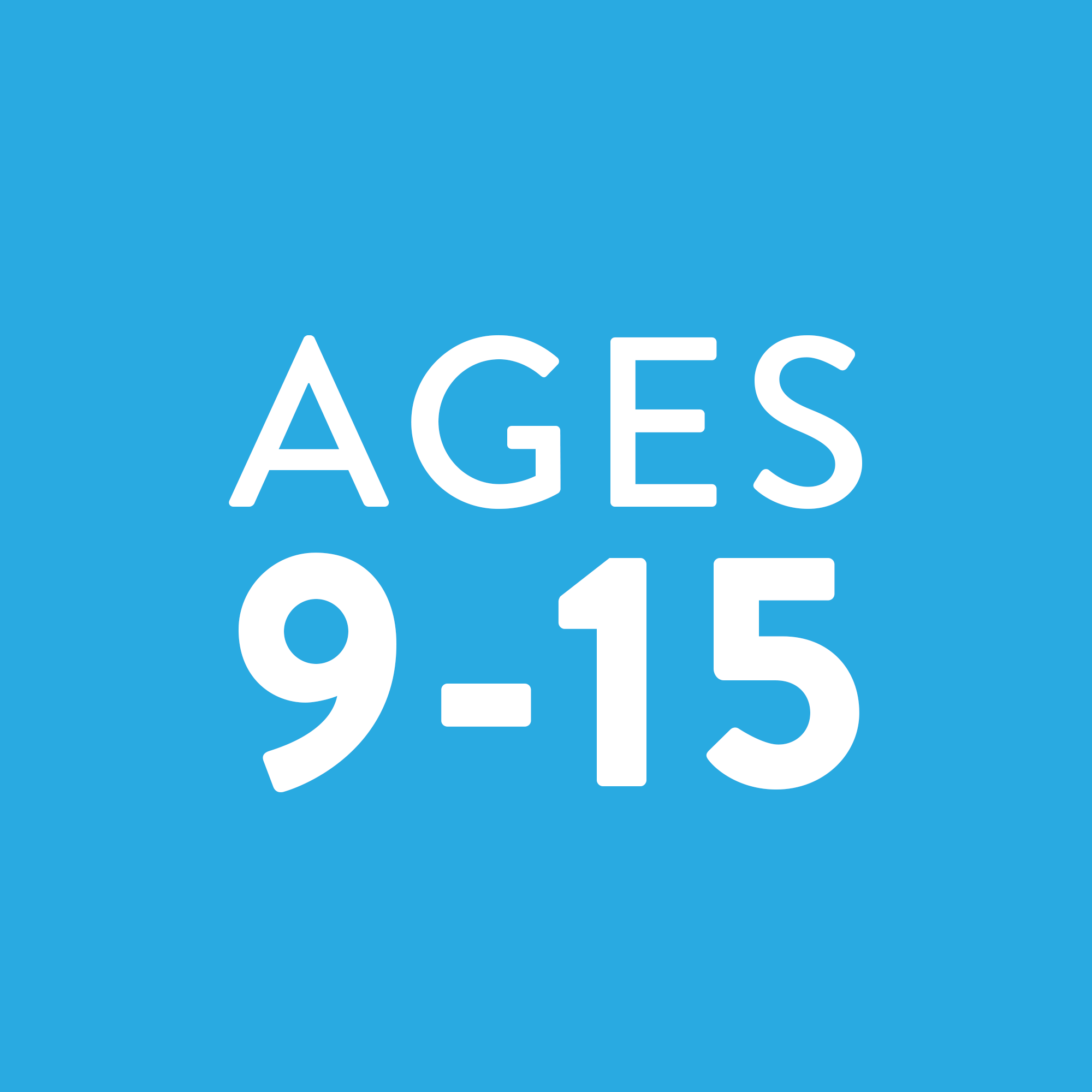 Ages 9-15