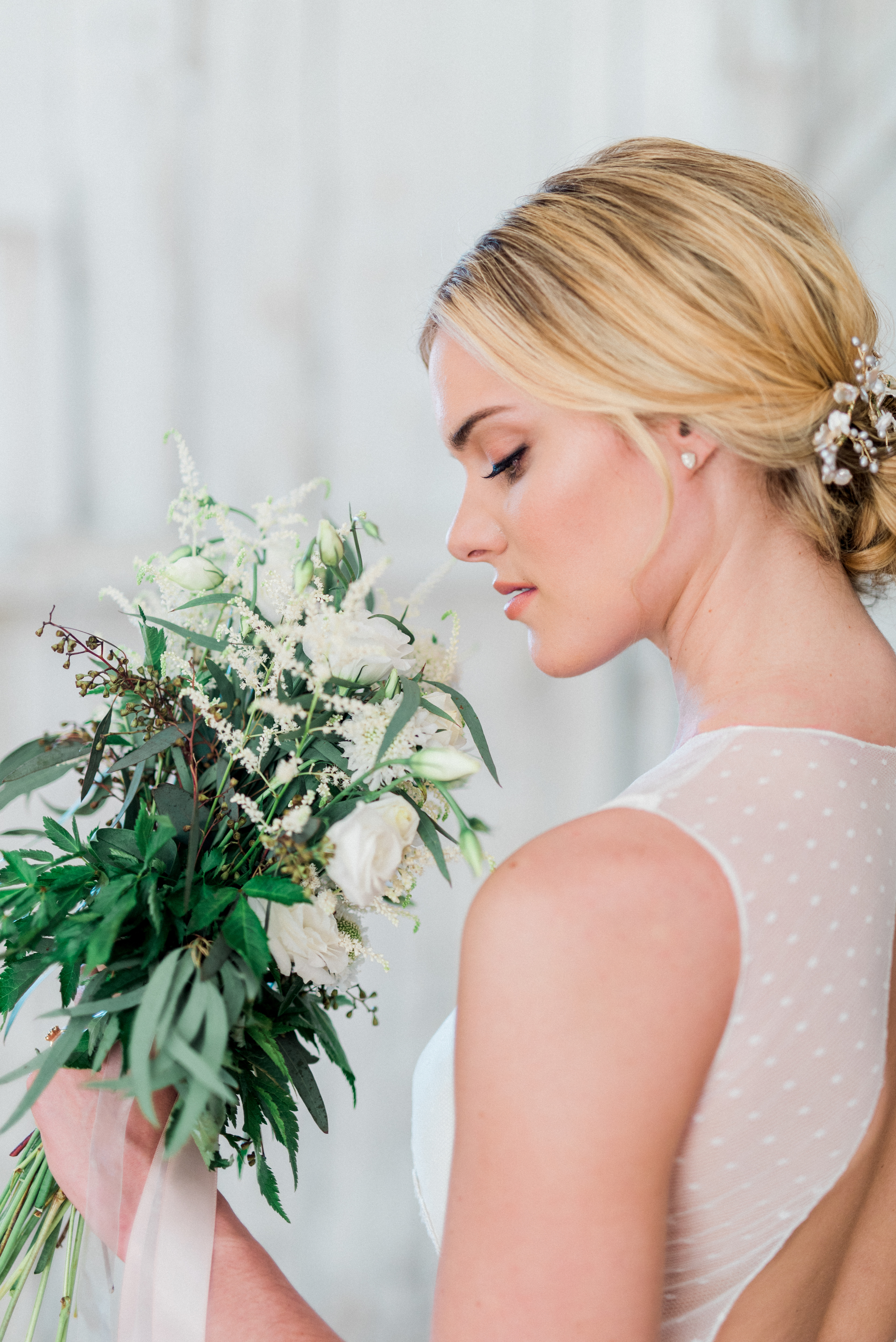Styled Shoot Bridal Hairstyling