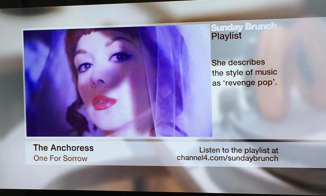 Thanks to  Sunday Brunch  for featuring One For Sorrow on this weekend's show!