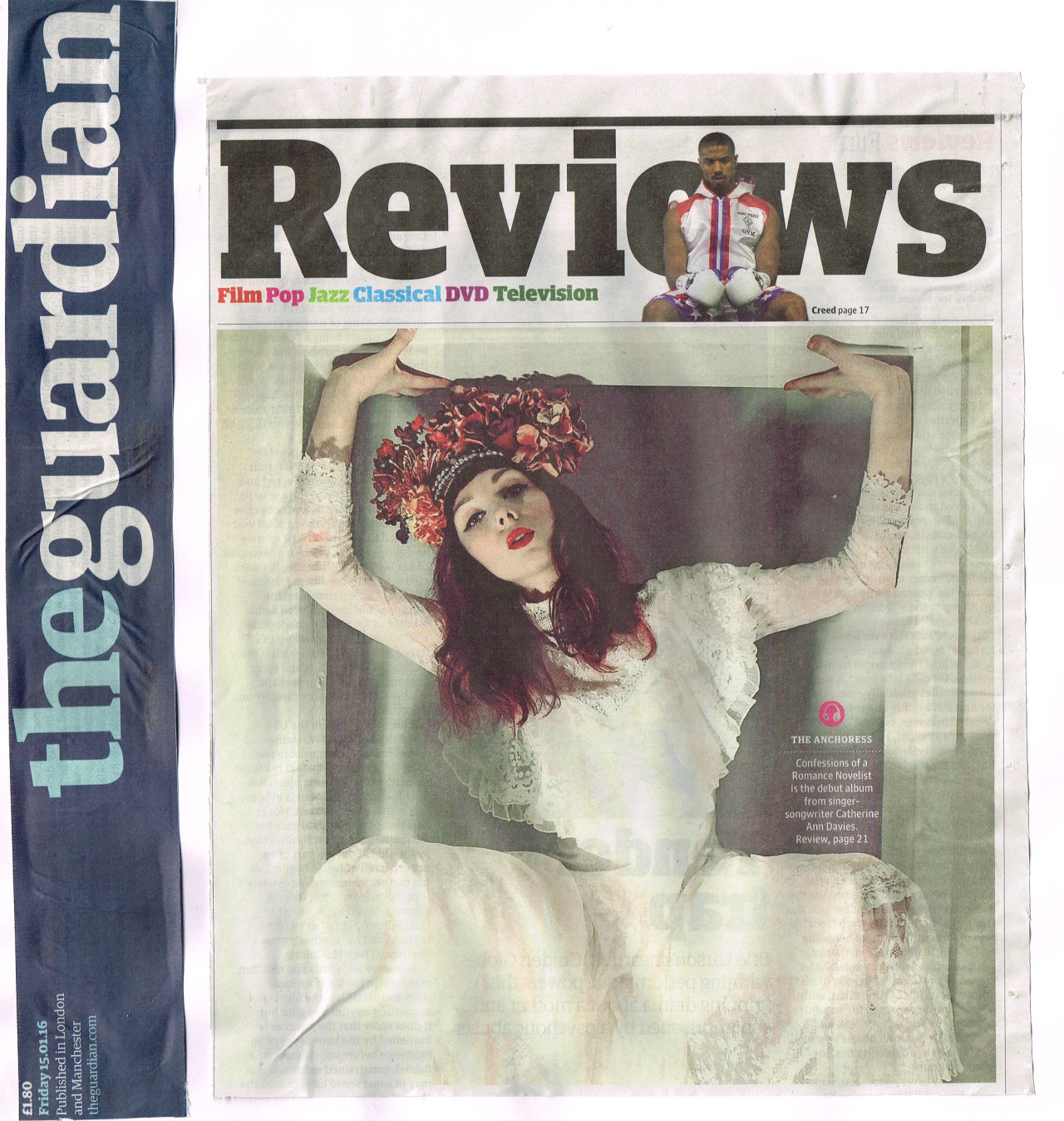 On the cover of the weekend's reviews section…  Album out now:  Deluxe CD:  http://smarturl.it/COARN_CD  Album Download:  http://smarturl.it/COARN_DIGITAL  Album Stream:  http://smarturl.it/COARN_STREAM