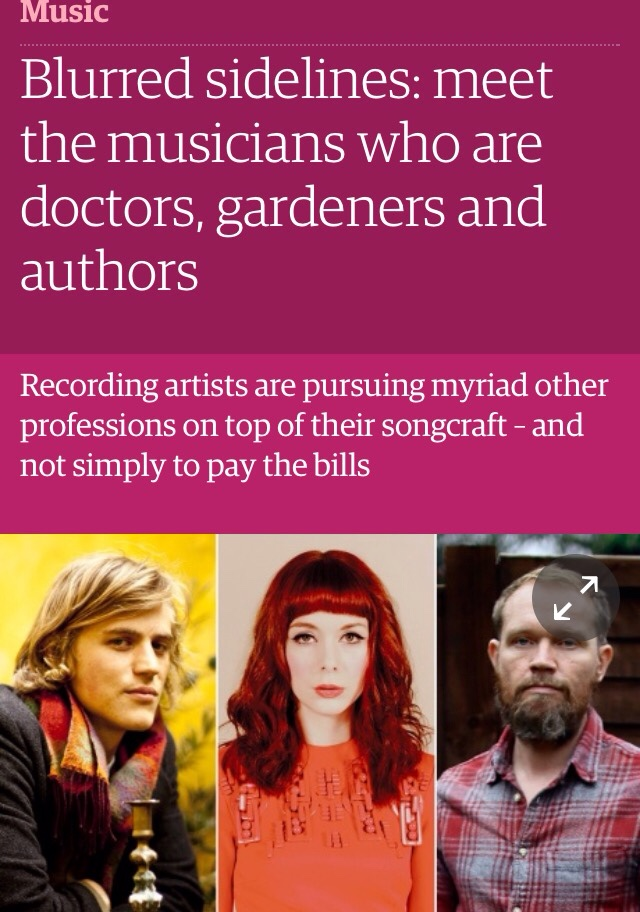 Did an interview with the Guardian about my multi-tasking life…     http://gu.com/p/45m5d/stw