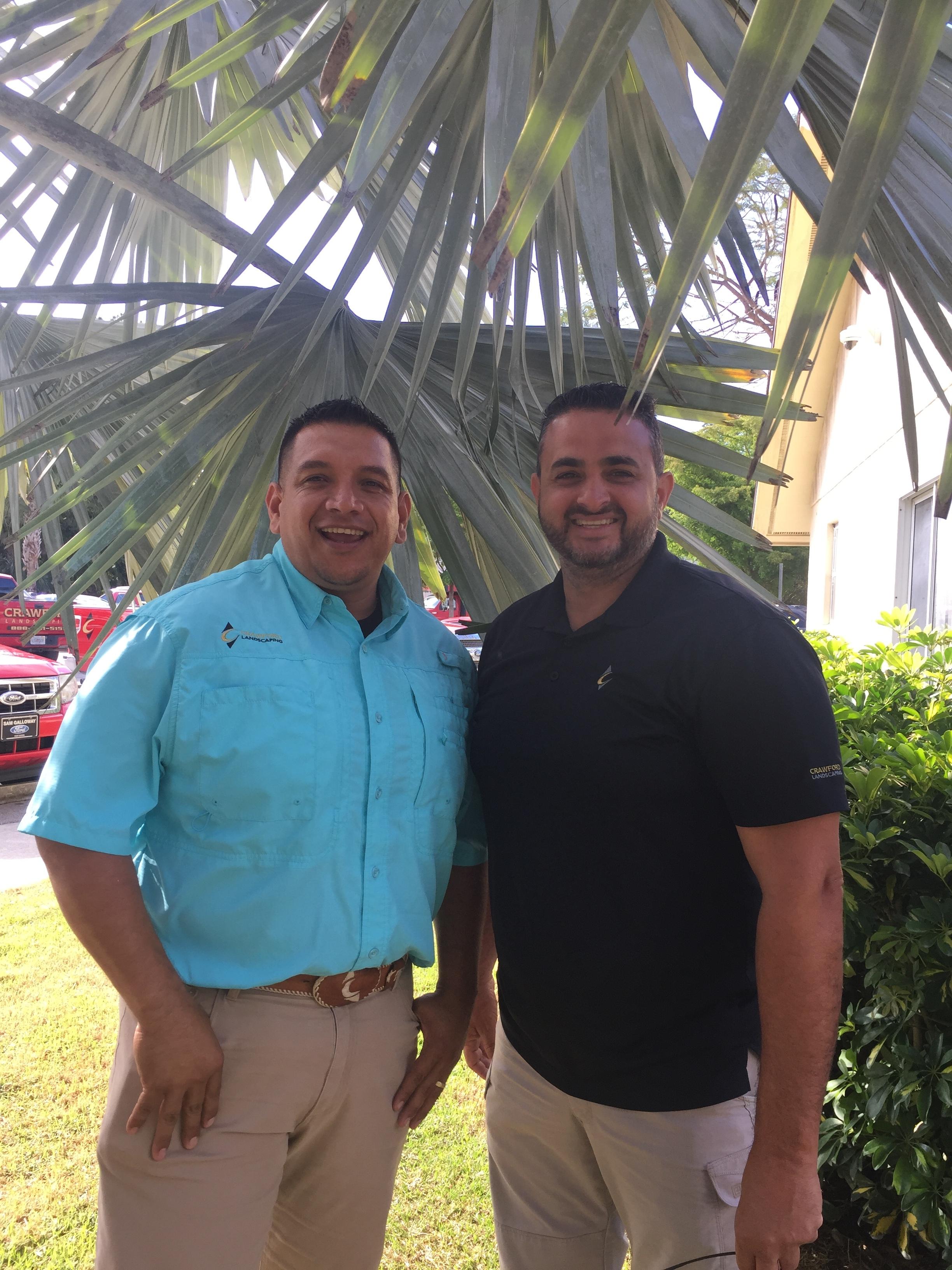 Javier and Owner Gerardo Regalado