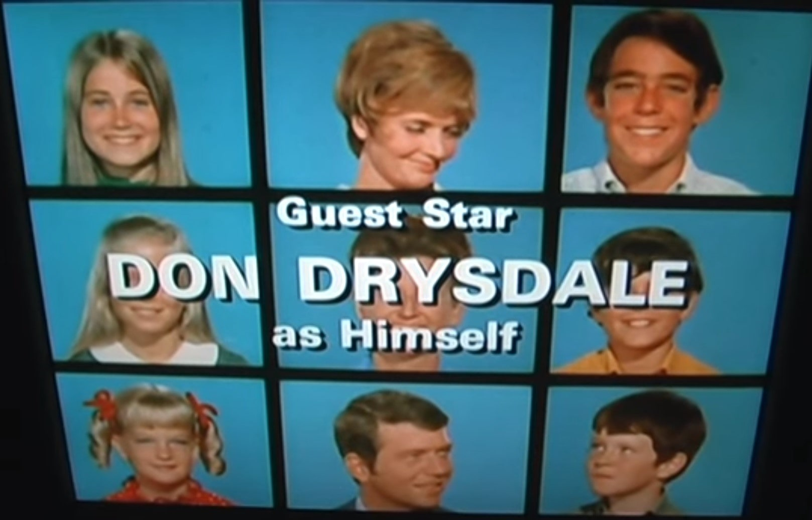 "Dodgers players guest starred in many TV shows and movies during the decade. Don Drysdale appeared in ""The Brady Bunch,"" ""The Rifleman,"" and ""Leave it to Beaver."""