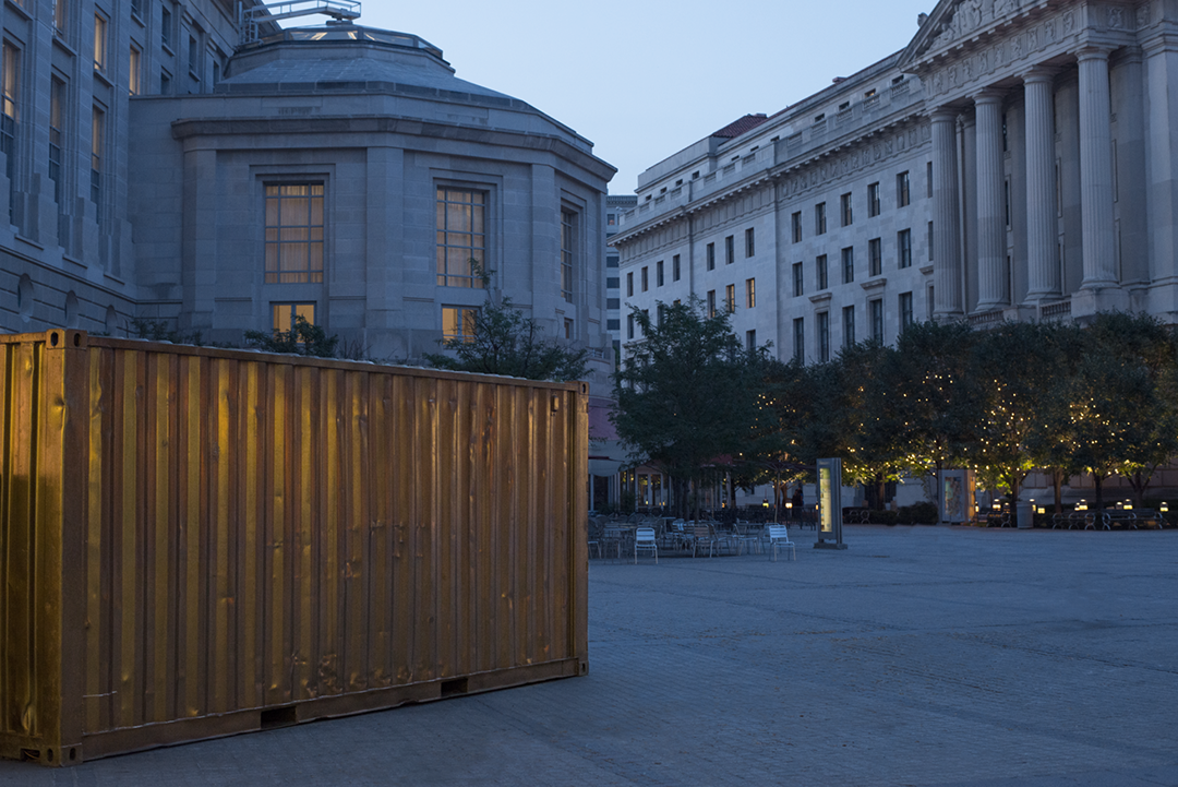 #DCPortal. Evening at Woodrow Wilson Plaza. June 2015DC.png