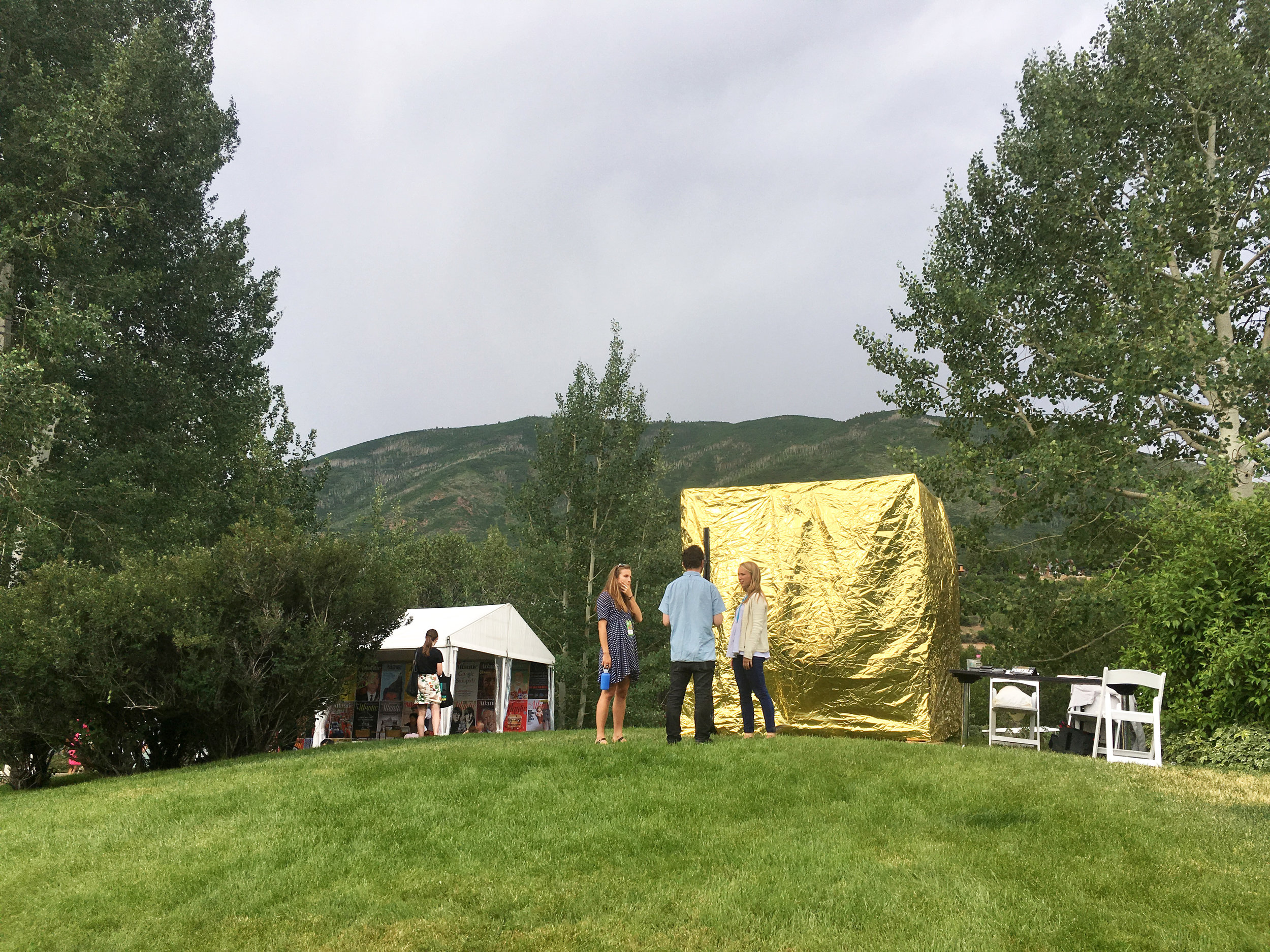 We popped up a Portal at the Aspen Ideas Festival this summer thanks to Damian Woetzel,Aspen Institute's Arts Program.
