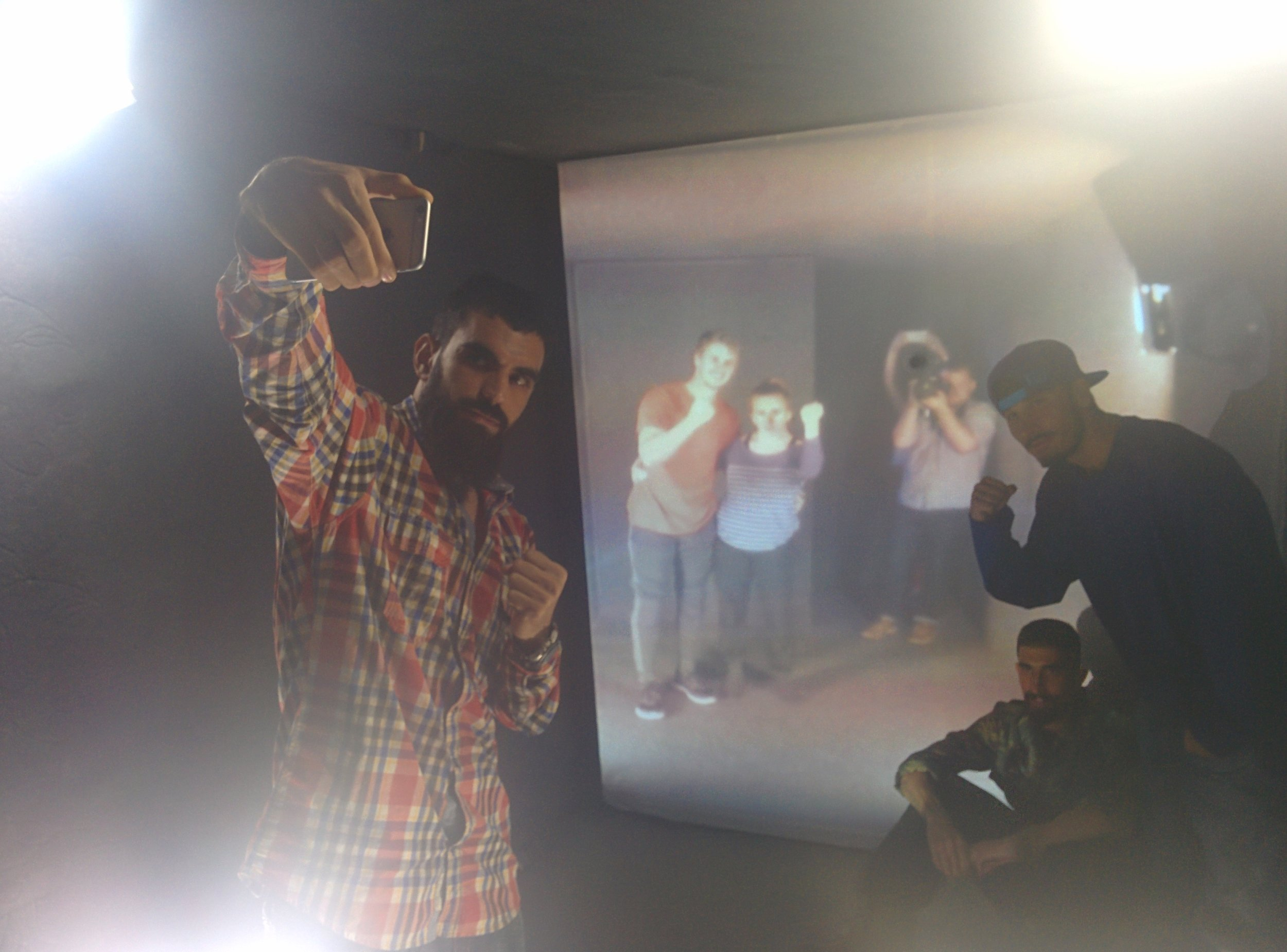 Rappers in Herat improvise with experimental dancers at the University of Maryland