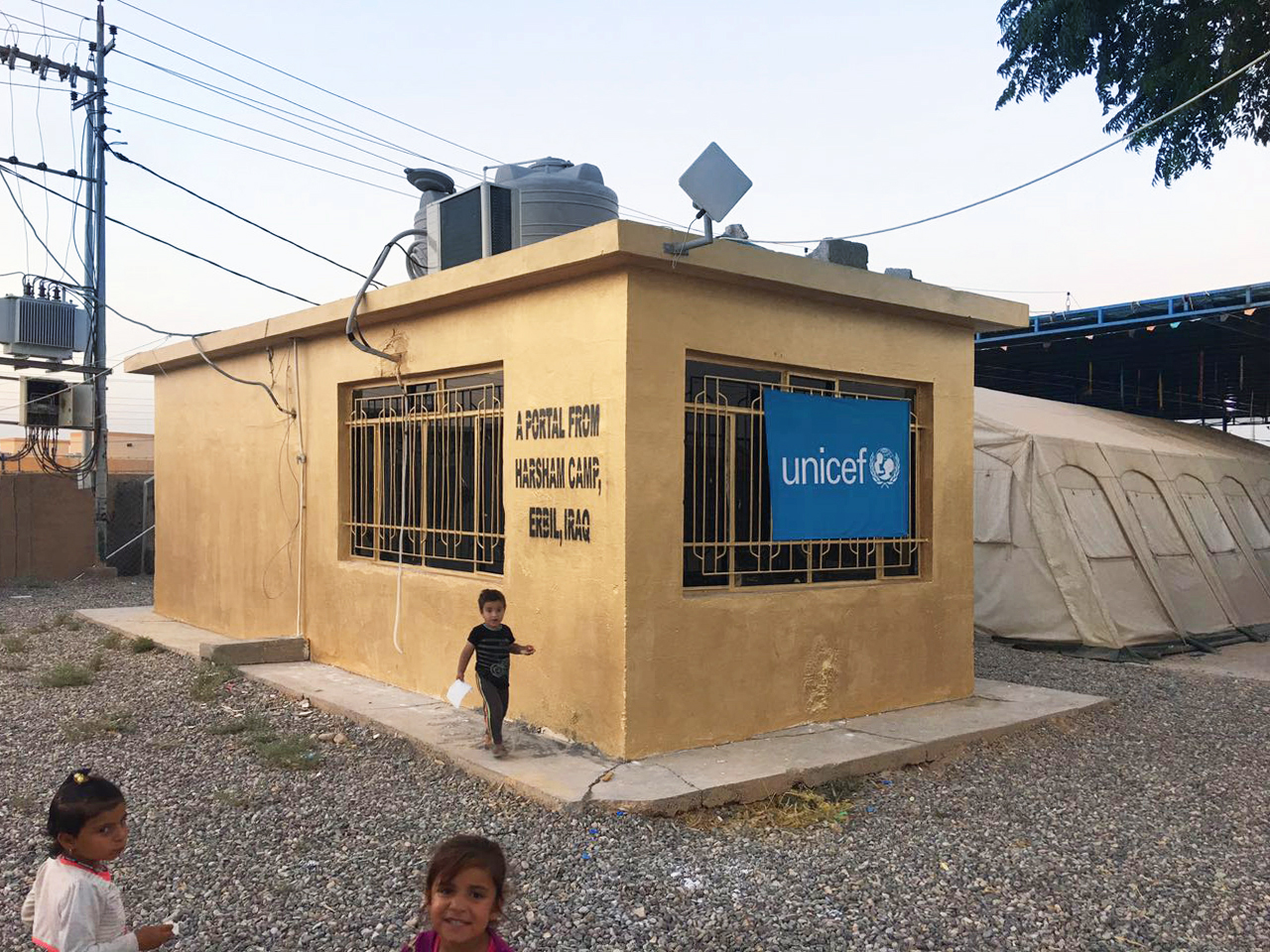 Erbil Camp_Exterior_June 2016_Credit_ UNICEF Iraq and Shared_Studios.jpg