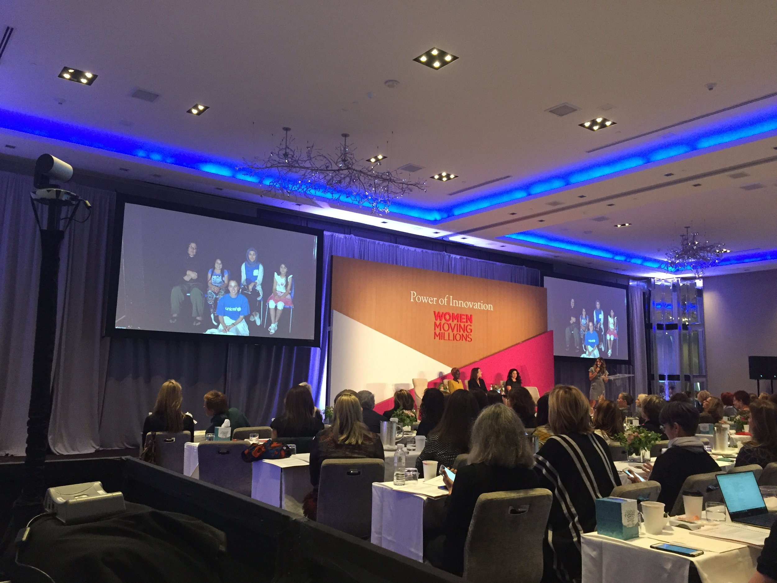 Women Moving Millions event connecting to Erbil Portal