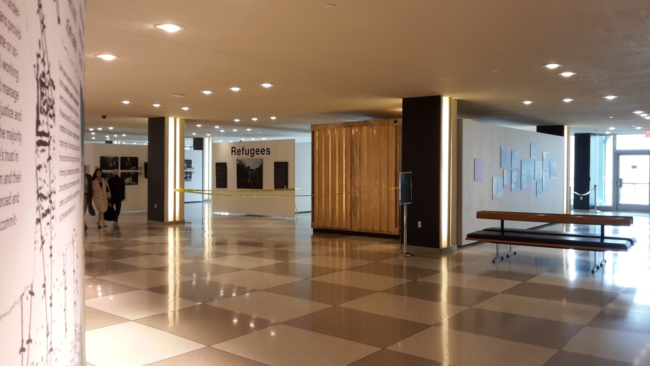 Indoor Portal at the United Nations Headquarters