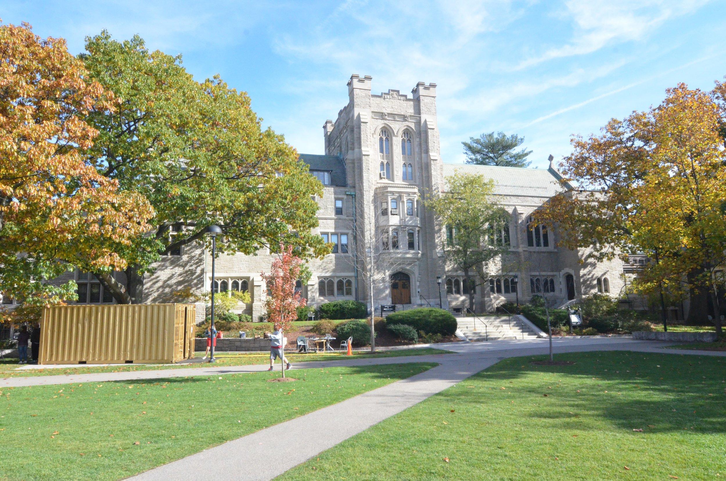 A Portal at Harvard Divinity School