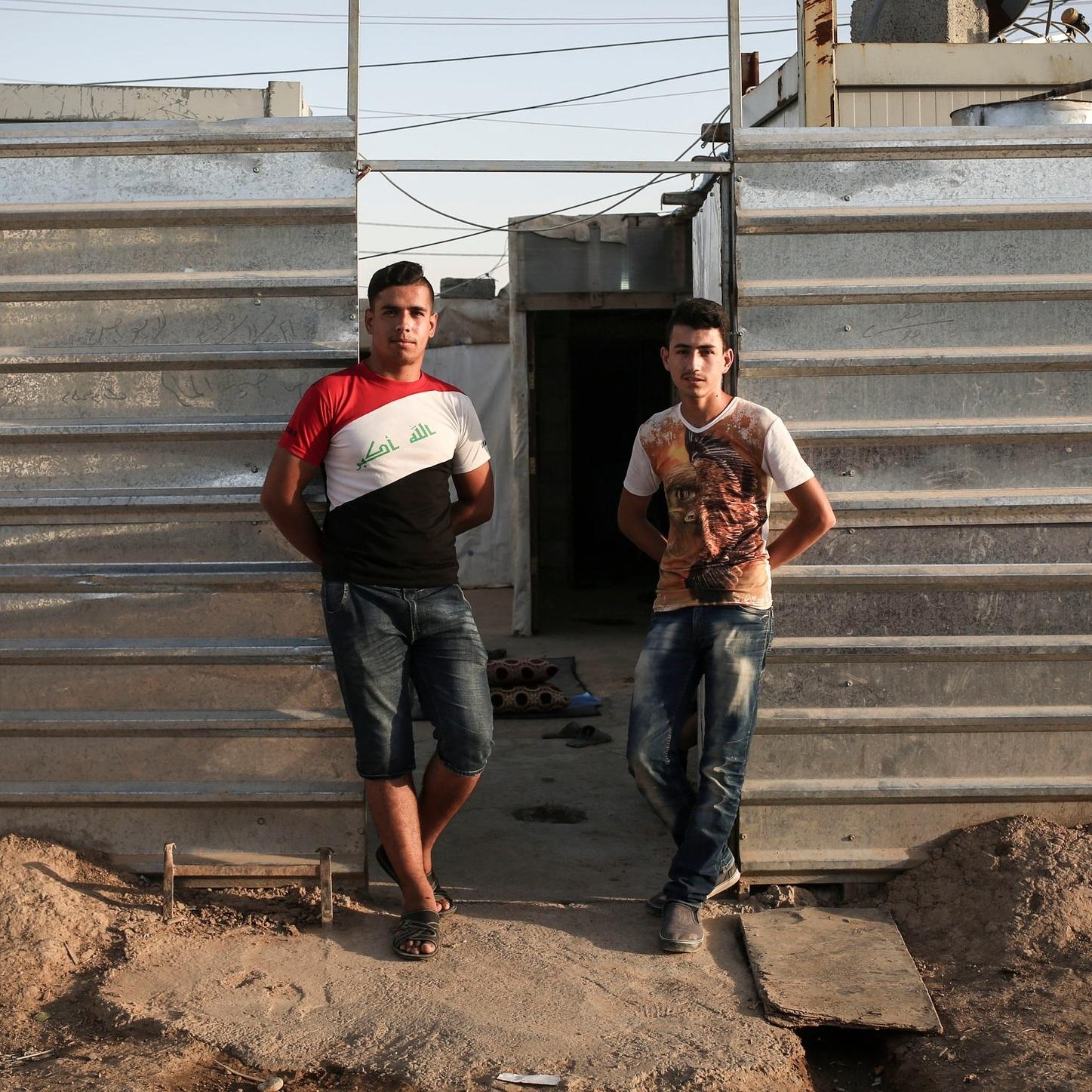 Rami and Sami in Erbil, Iraq.
