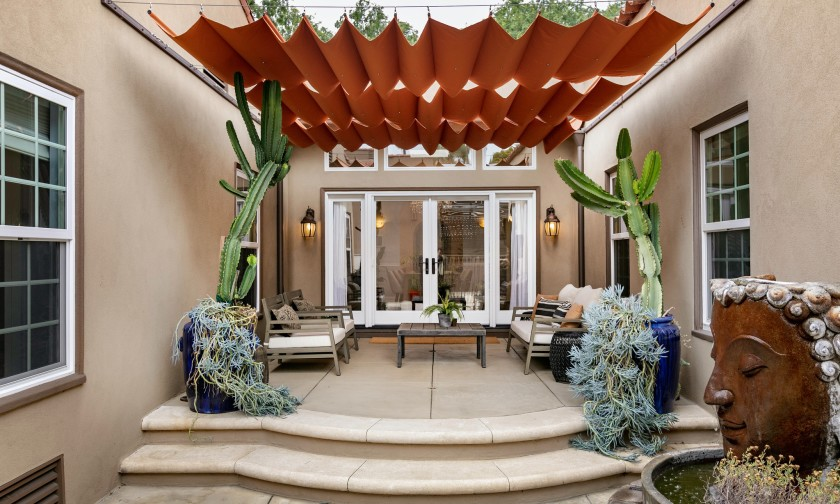 LA TIMES - Actors Anna Camp and Skylar Astin list secluded Spanish home in Los FelizLA Times - May 2019