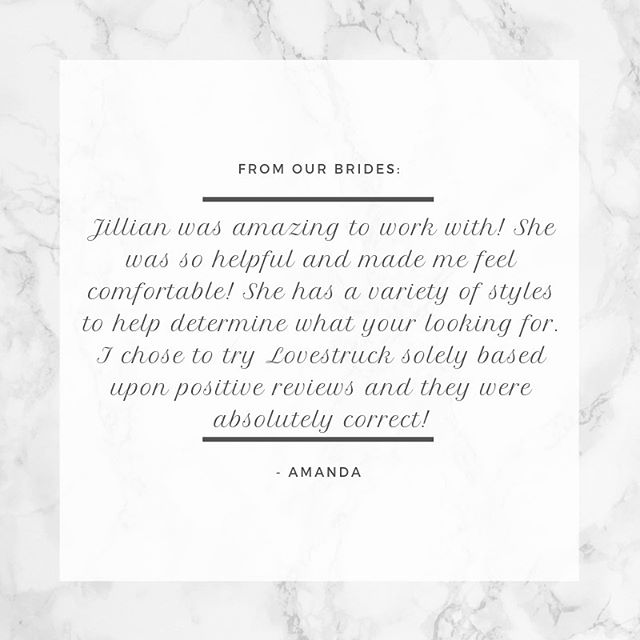 Thank you so much Amanda 💕  #bride #reviews #weddingdressshopping #love #southdakotasalon #bridalboutique #bestofweddings #lovemybrides