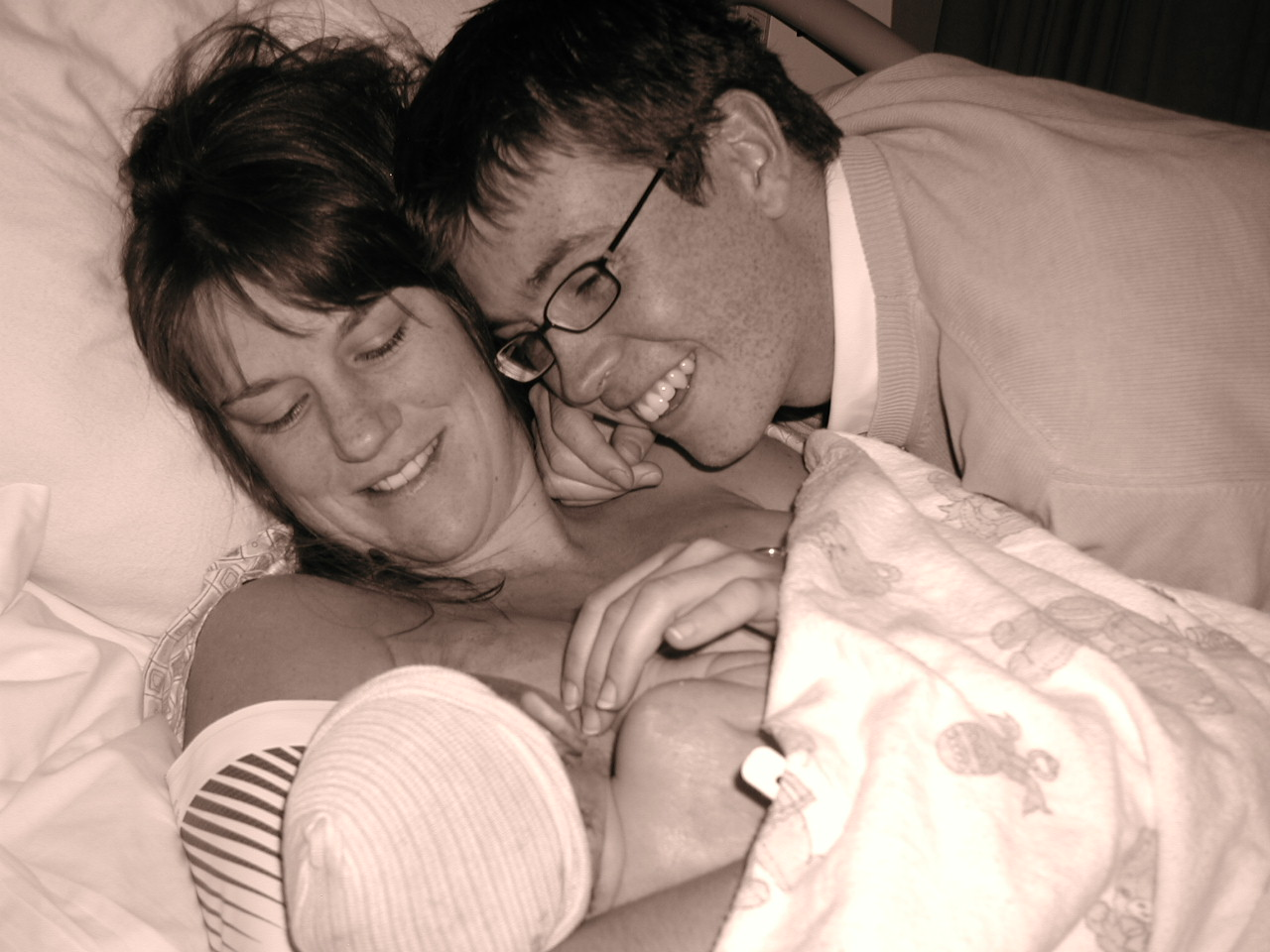 Lots of love, support and trust creates a remarkable birth experience.