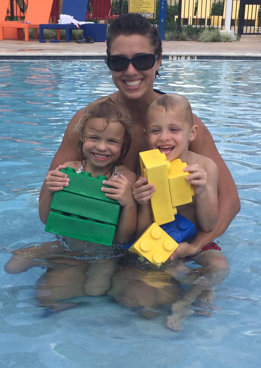 Shanna and twins pool.jpeg
