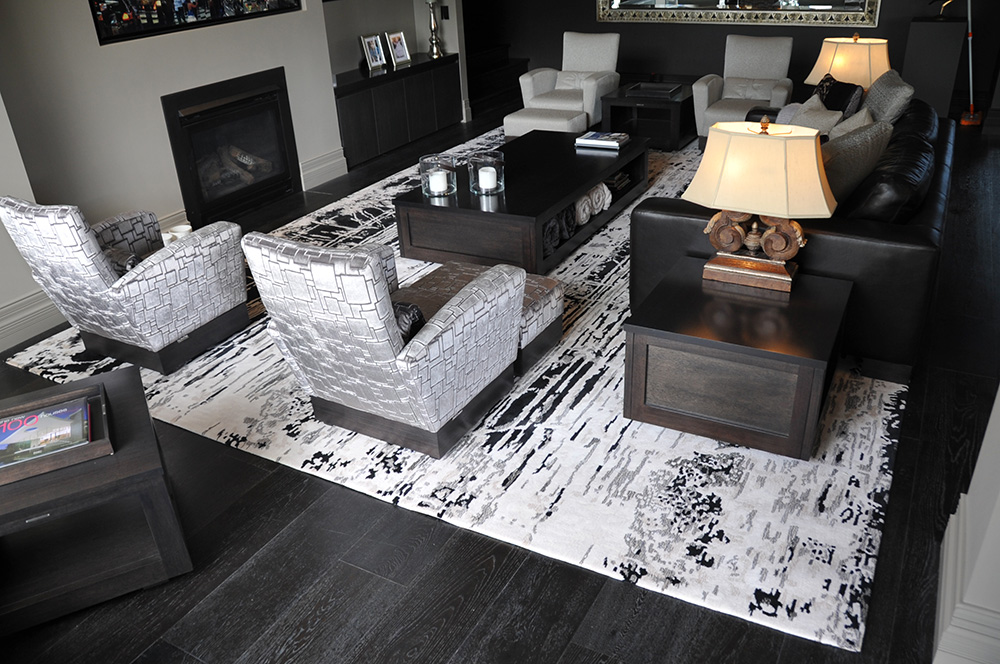 Tones, shades and tint all depend on the addition of black or white to a colour. Rug: 'Wall'