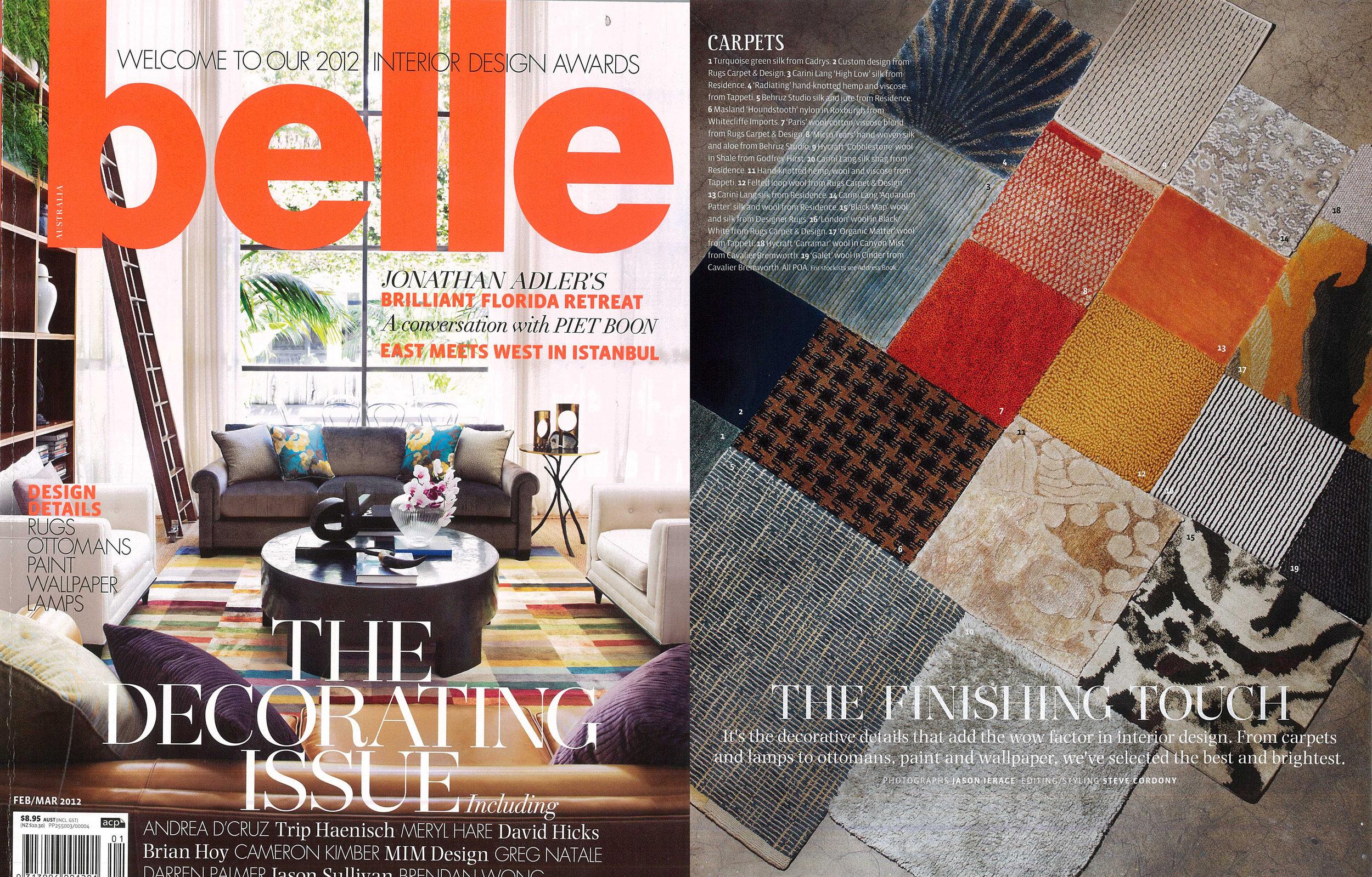 Belle Magazine - Feb/Mar 2012