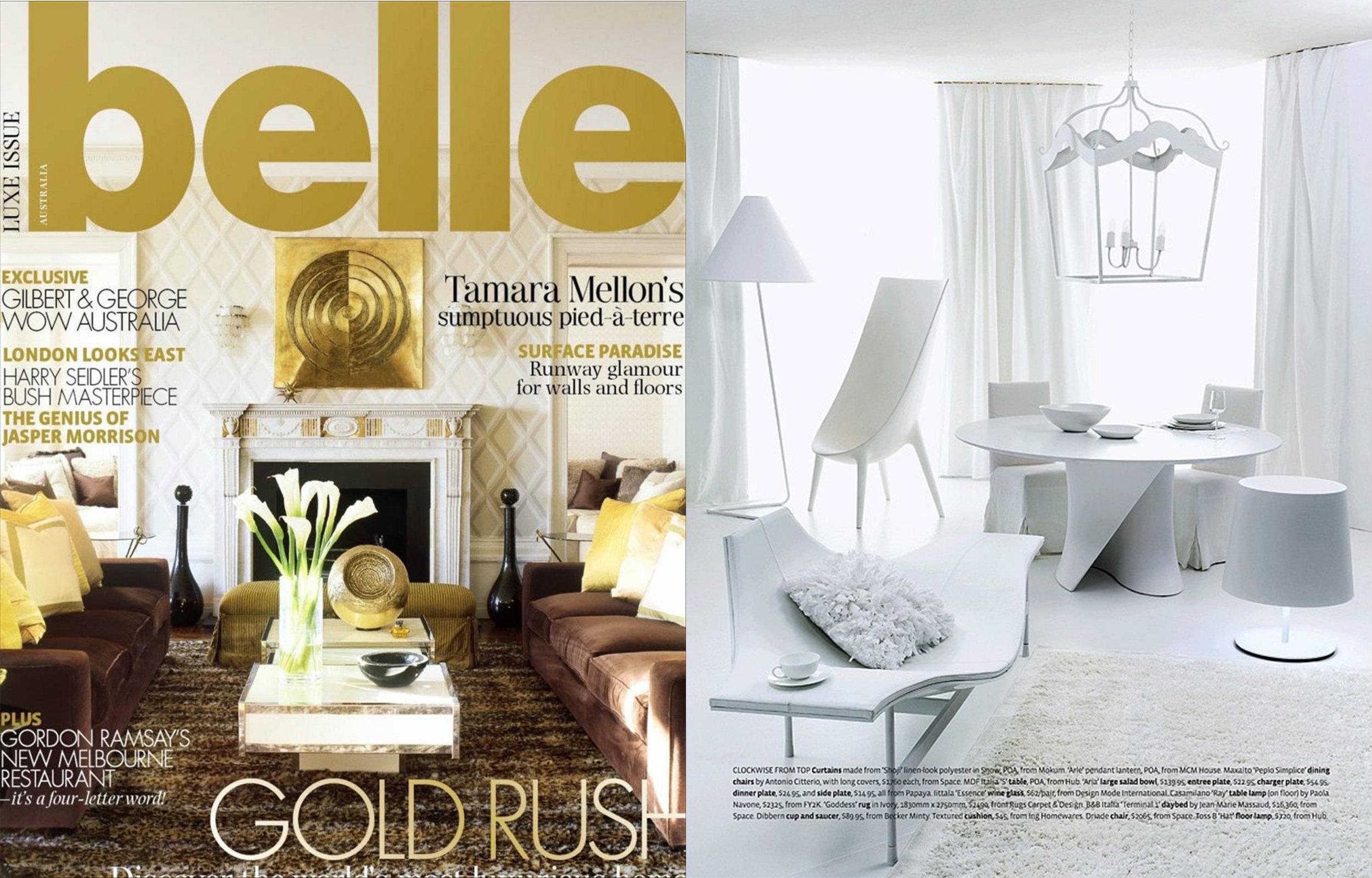 Belle Magazine - Jun/Jul 2010
