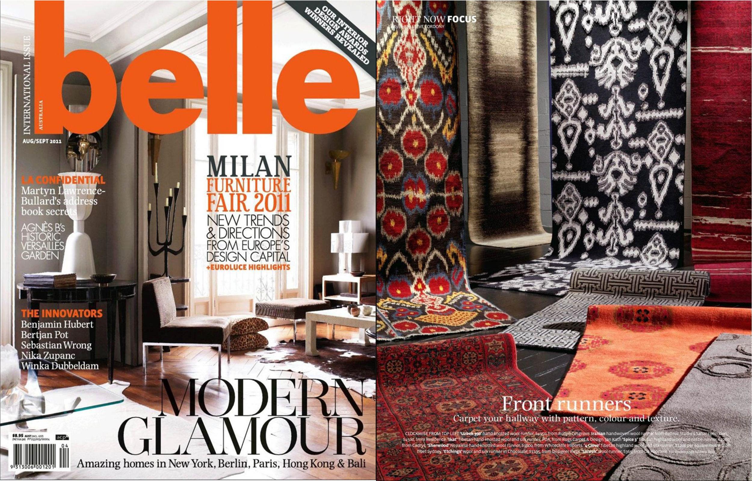 Belle Magazine - Aug/Sept 2011