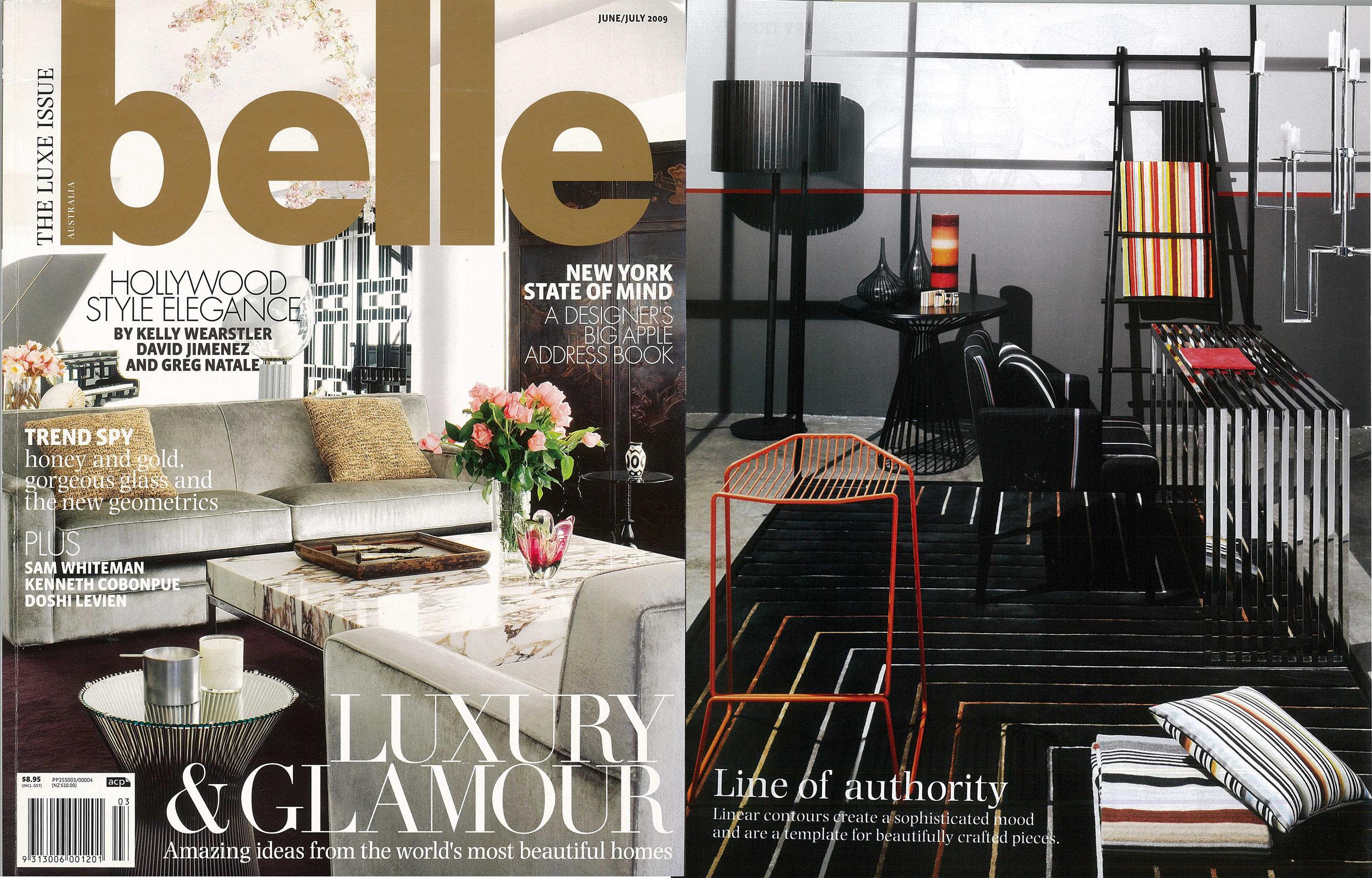 Belle Magazine - Jun/Jul 2009