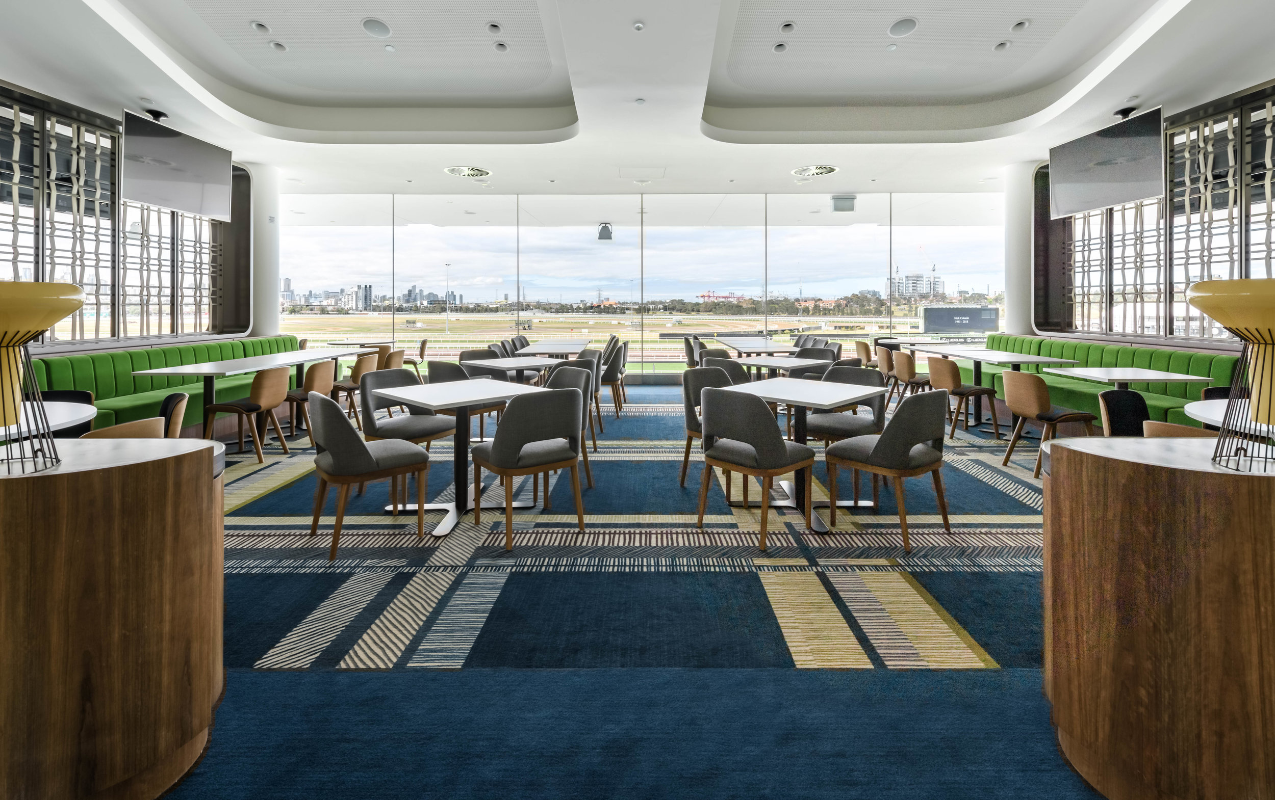 THE MEMBERS DINING ROOM  READ MORE