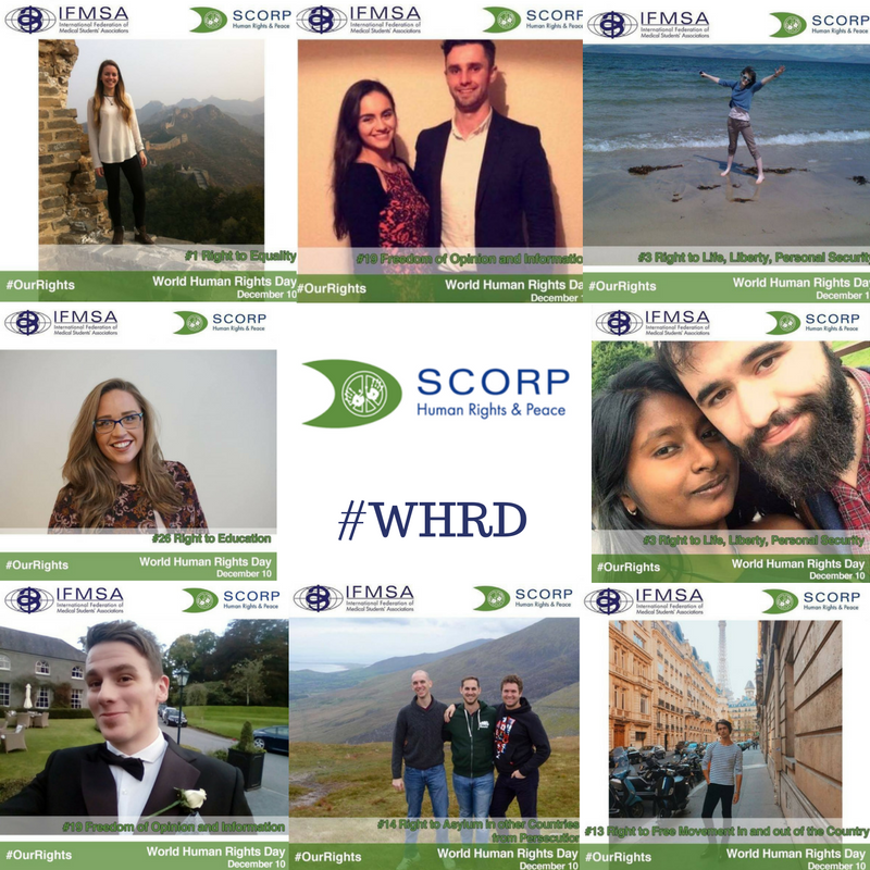 Our executive board members got in on the action too, by showcasing their support for WHRD!