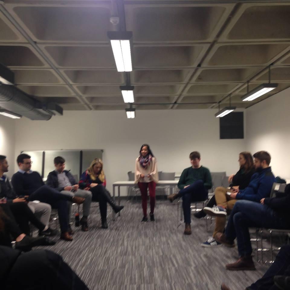 AMSI-NUIG's Communication Workshop