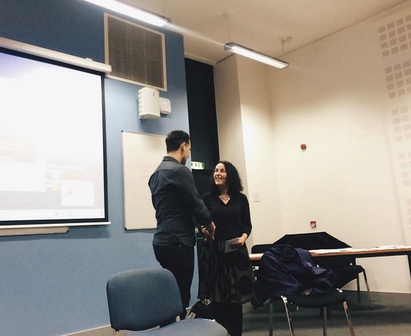 AMSI-UCC's medical student mental health talk, with Dr. Maura O'Neill