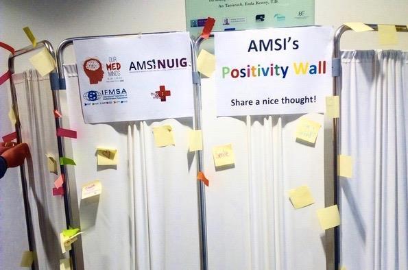 AMSI-NUIG's Positivity Wall