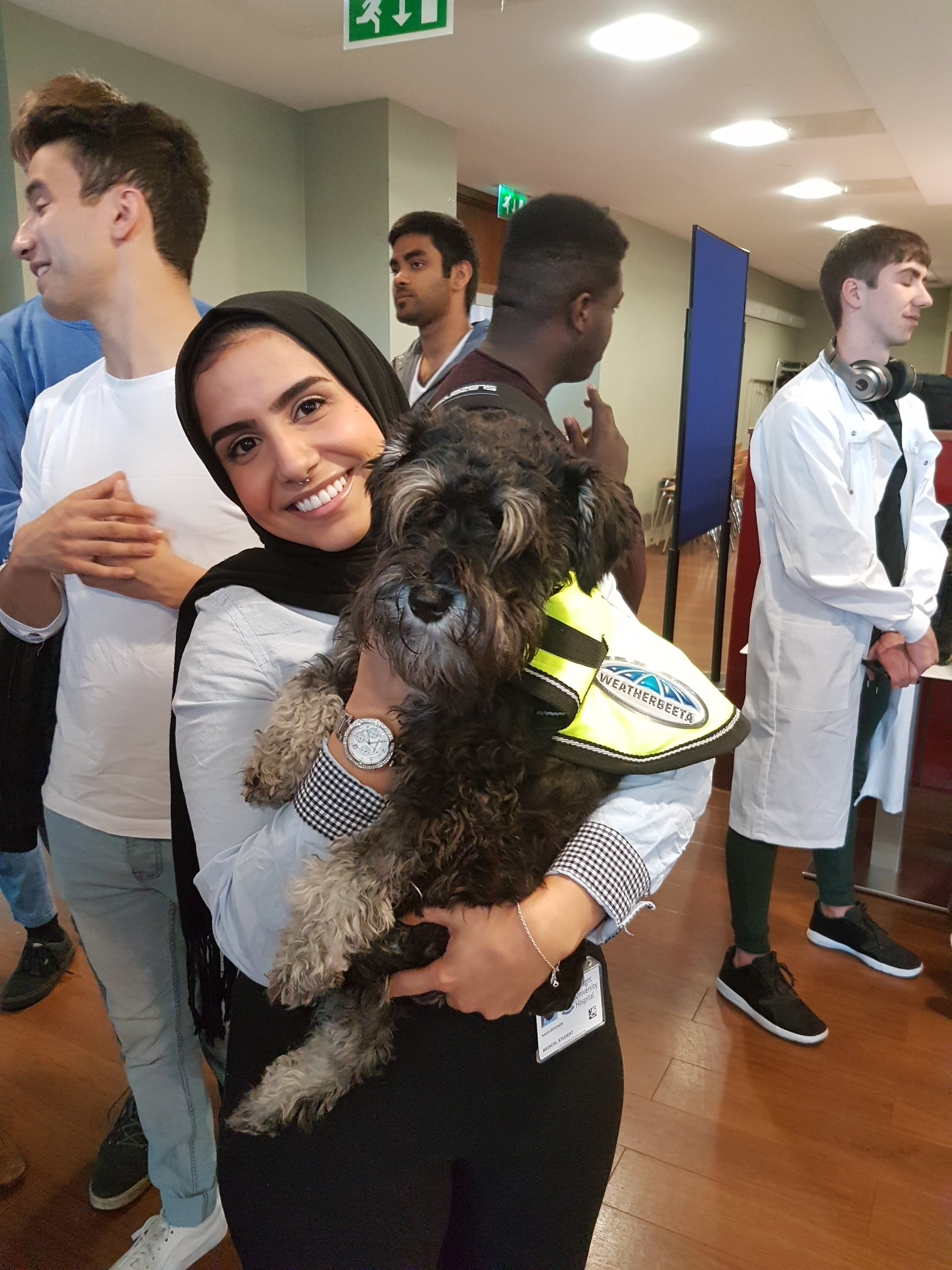 Puppy Therapy  AMSI TCD Our Med Minds Week 2018
