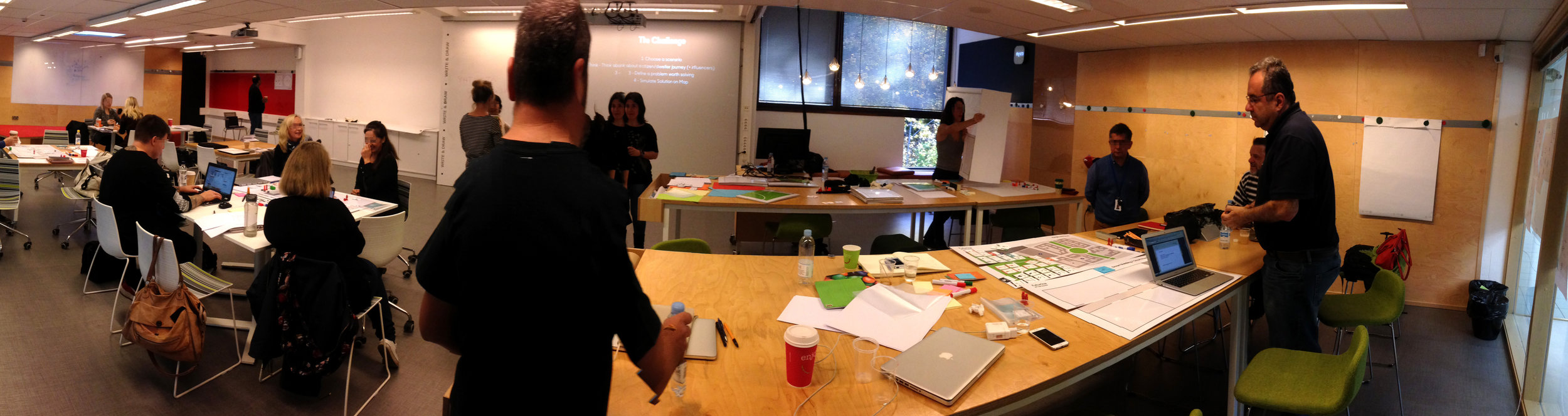 Panorâmica Workshop IoT Service Design Futurice