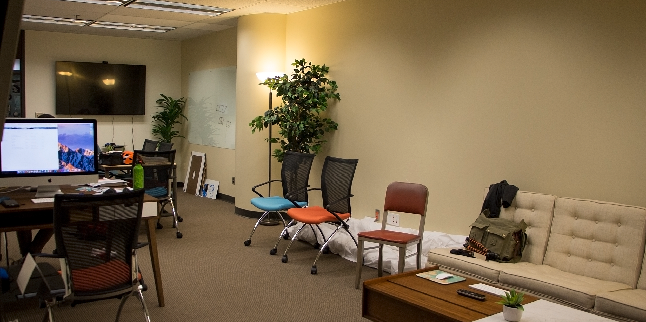 The Experimental Geography Studio, workspace for Bachelor, Masters and Doctoral candidates.