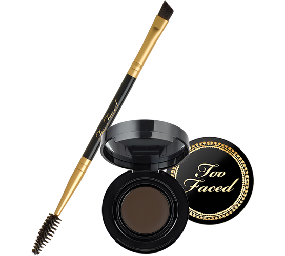 I'm a sucker for all things eyebrow related. This pot looks like eyebrows are made easy. Get it here.