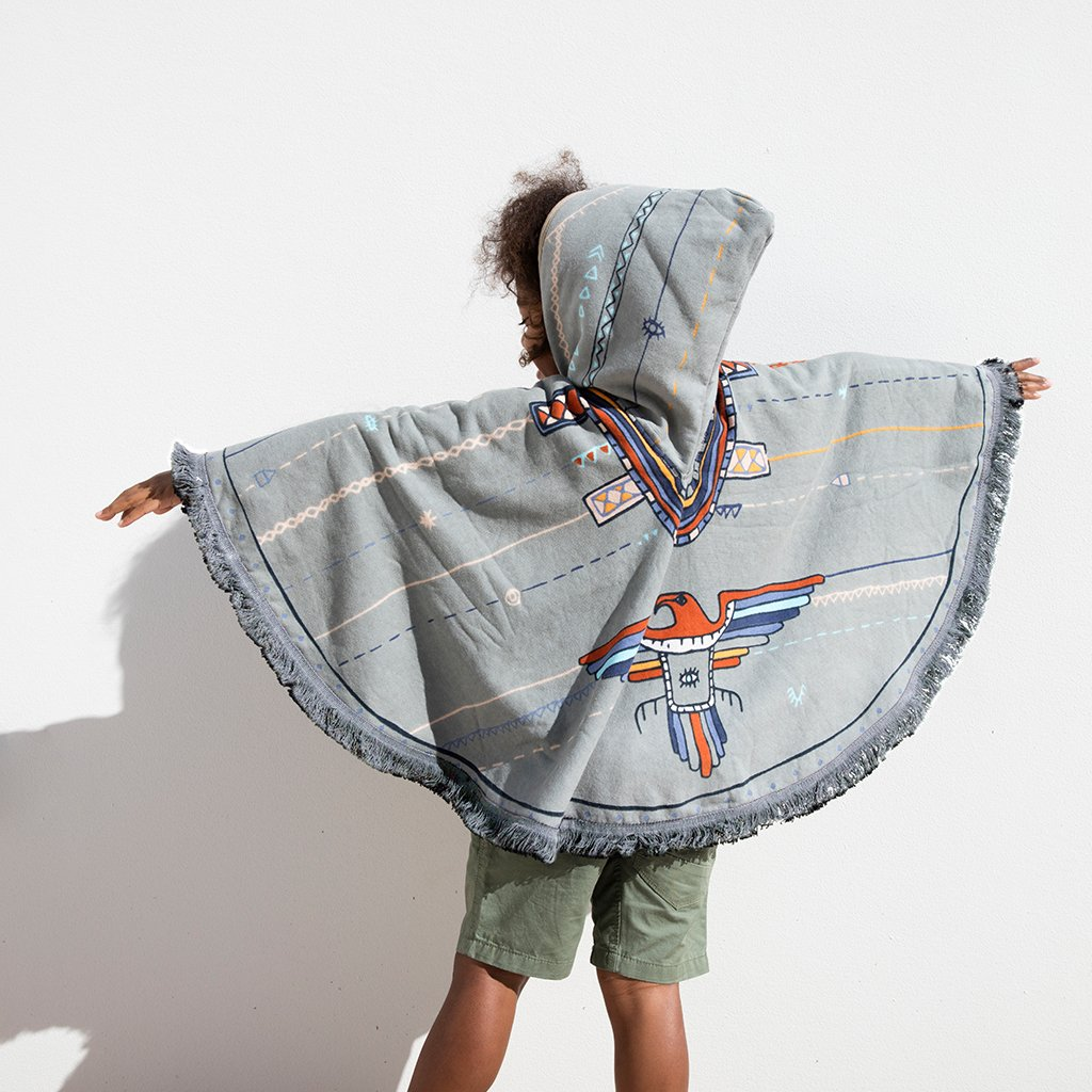 We purchased some hooded towels for our nephews and niece this year, they are actually a super cute idea! I love this hooded poncho from The Beach People. Get it  here.